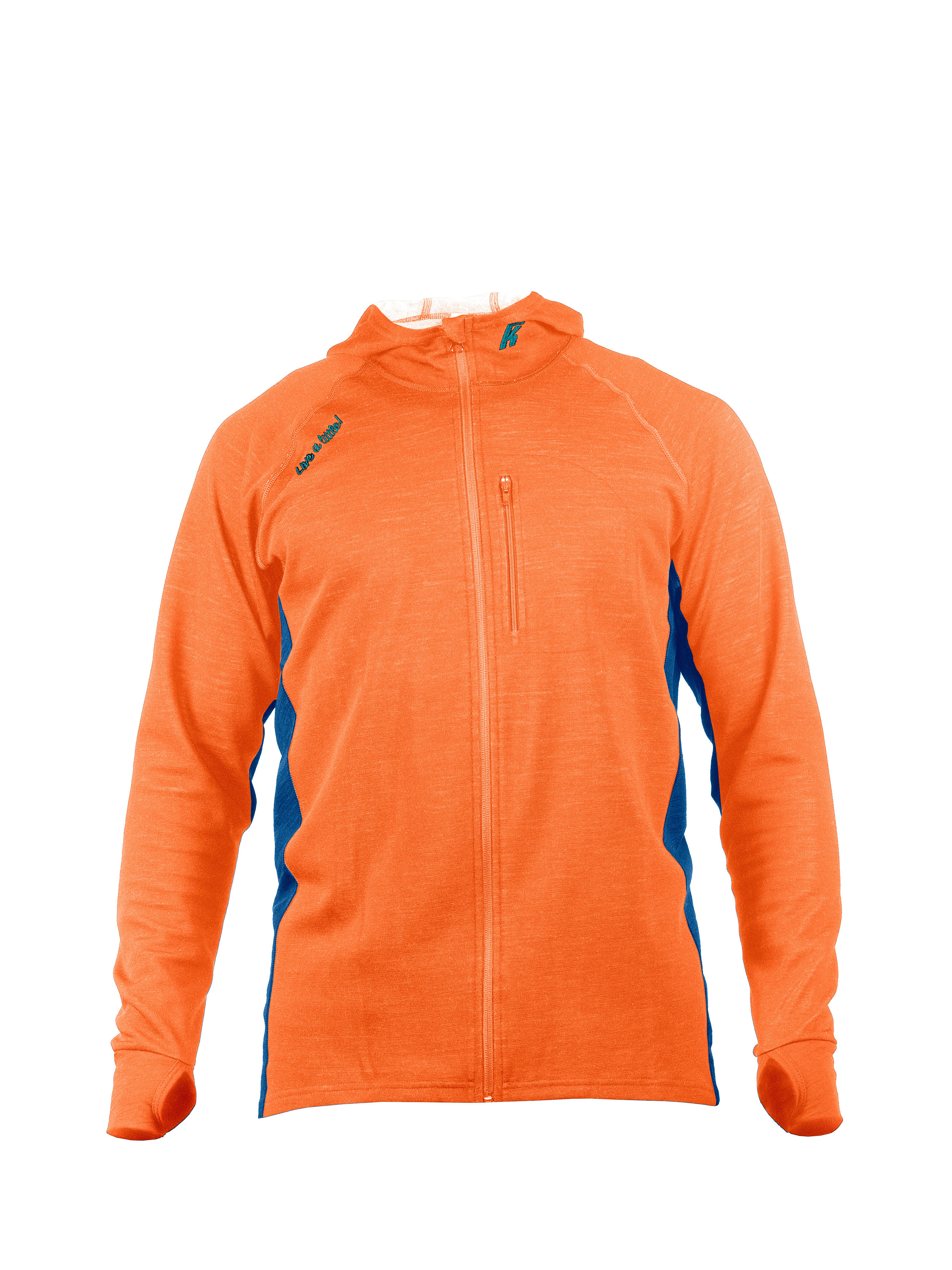 Hoodie 200 Mix Orange