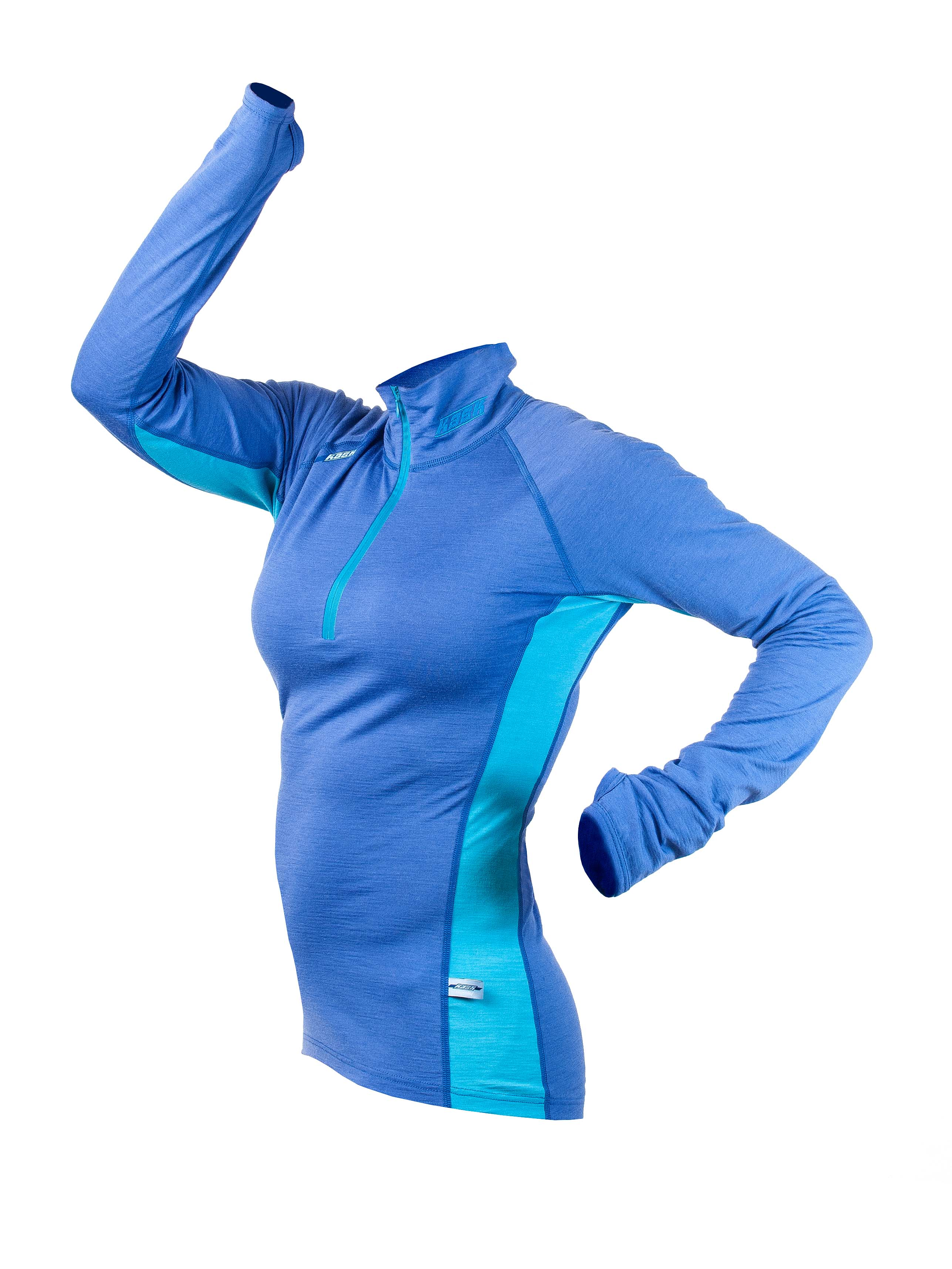 Merino tričko KASK - Womens Polo 200 949587031f