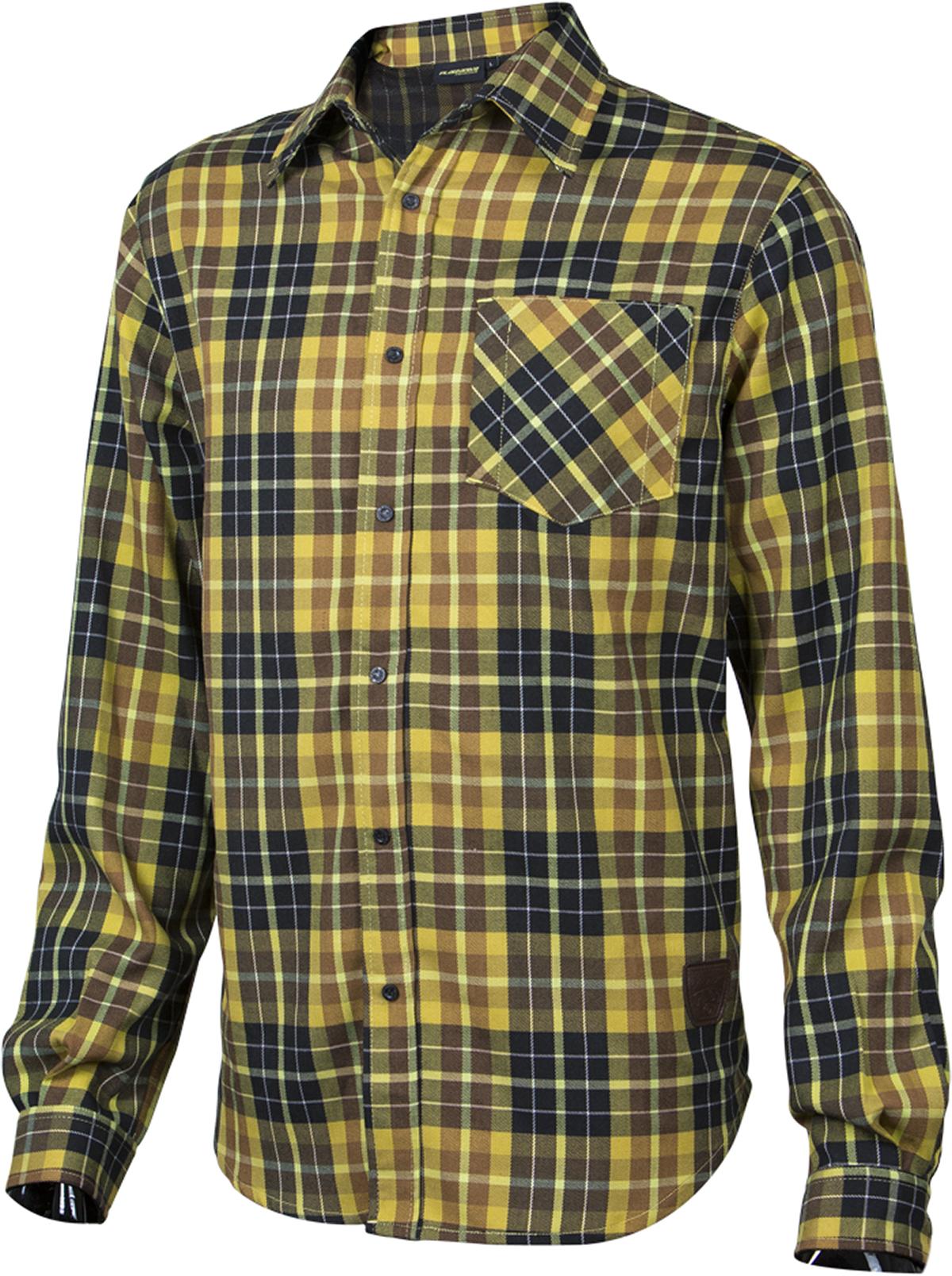 7f0d674741f Pánská košile Platzangst - Mountain Ridge Yellow
