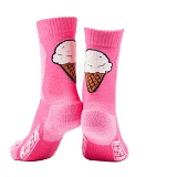 Ice cream socks Pink