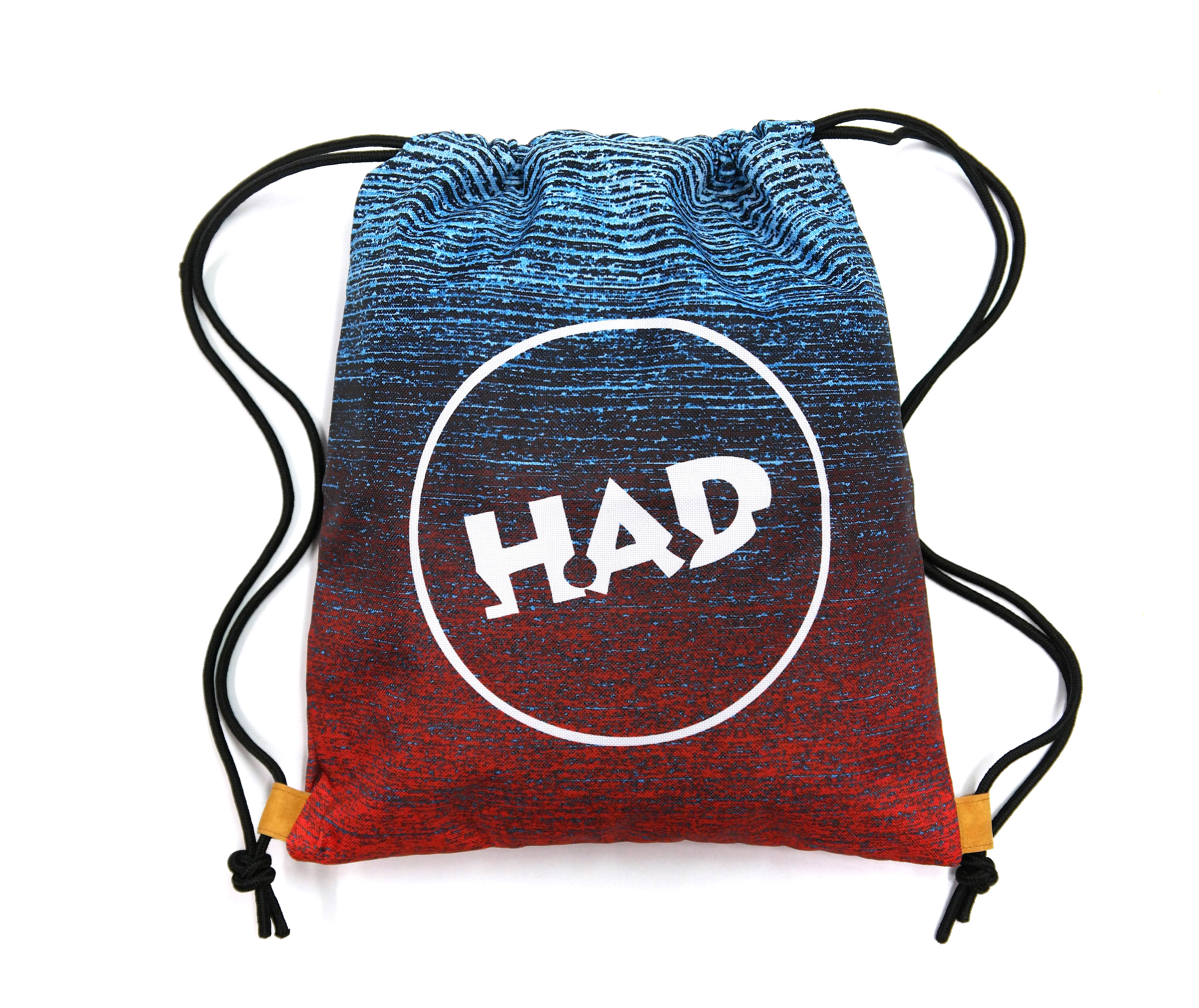 Taška H.A.D. - Gym Bag, Gradient Melange Redblue