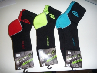 Merino ponožky Polaris - AM Merino Socks 2 pack, Lime 2