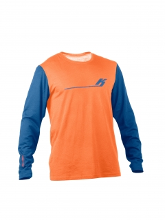 LongSleeve 140 Mix Orange