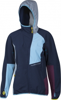 Crossflex jacket blue woman