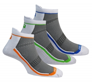 Coolmax socks 3 pack white