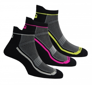 Coolmax socks 3 pack black