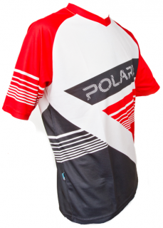 Freeride dres Polaris - AM Gravity, červená